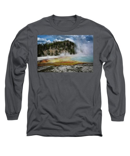 Long Sleeve T-Shirt featuring the photograph Yellowstone Colors #13 by Scott Read