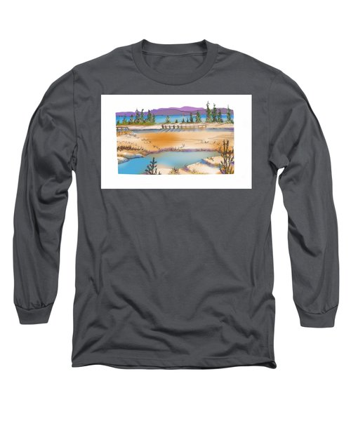 Yellowstone Long Sleeve T-Shirt by Kathryn Launey