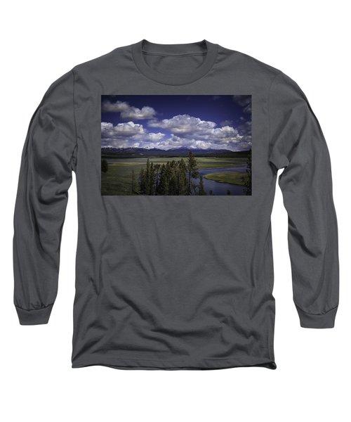 Yellowstone River Long Sleeve T-Shirt by Jason Moynihan