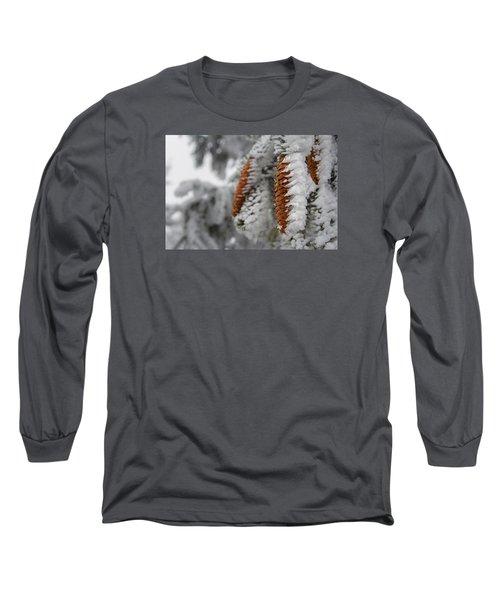 Yep, It's Winter Long Sleeve T-Shirt by Andreas Levi