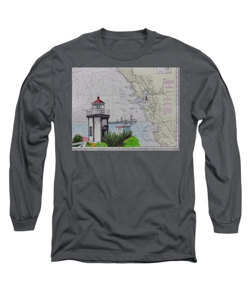 Yerba Buena Island Lighthouse Long Sleeve T-Shirt
