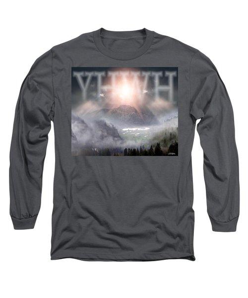 Yhwh Long Sleeve T-Shirt by Bill Stephens
