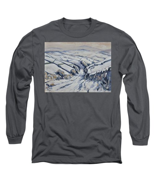 Yorkshire In The Snow Long Sleeve T-Shirt