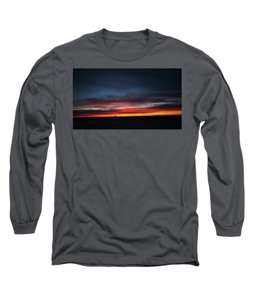 Long Sleeve T-Shirt featuring the photograph Yorkton Sunrise by Ryan Crouse
