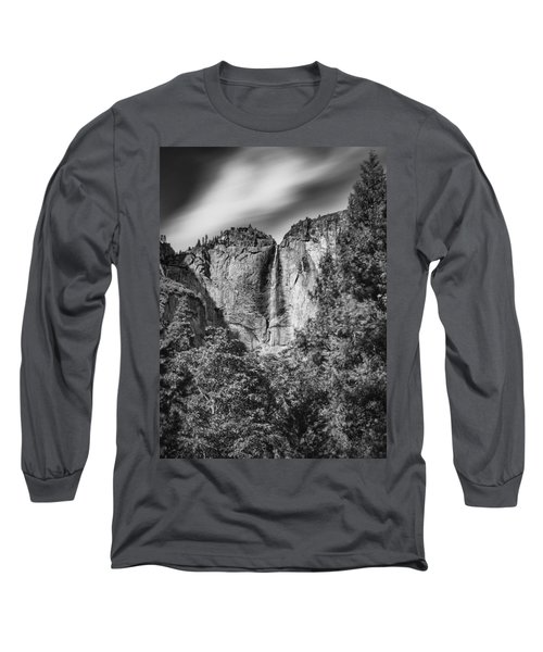 Long Sleeve T-Shirt featuring the photograph Yosemite Falls by Chris Cousins