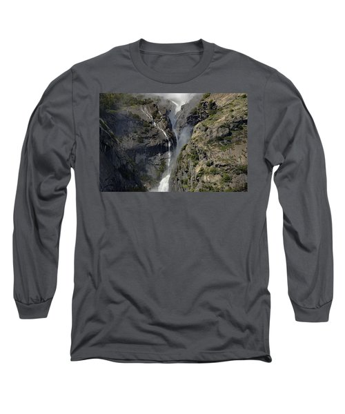Yosemite Falls From The Four Mile Trail Long Sleeve T-Shirt