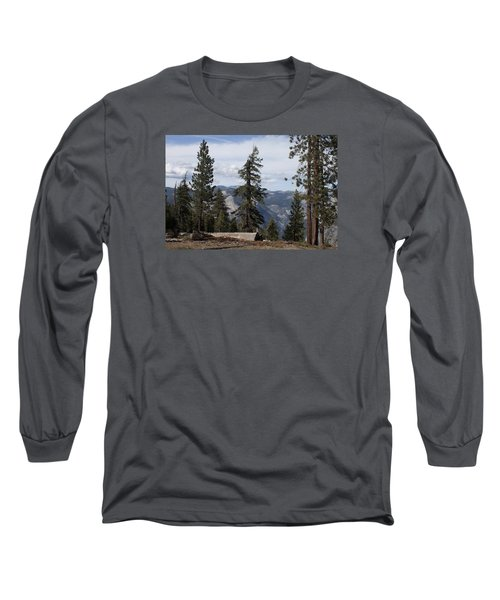 Yosemite Park Long Sleeve T-Shirt by Ivete Basso Photography