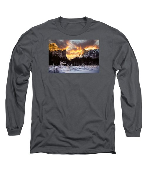 Yosemite Valley Long Sleeve T-Shirt