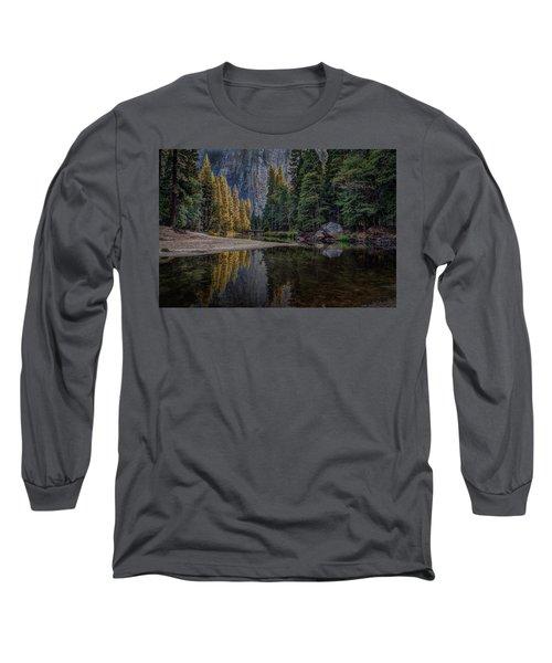 Yosemite Valley Reflections Long Sleeve T-Shirt