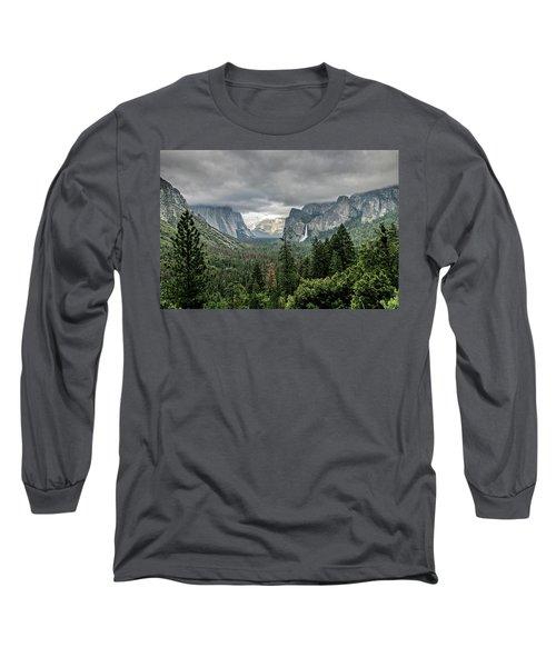 Yosemite View 36 Long Sleeve T-Shirt by Ryan Weddle