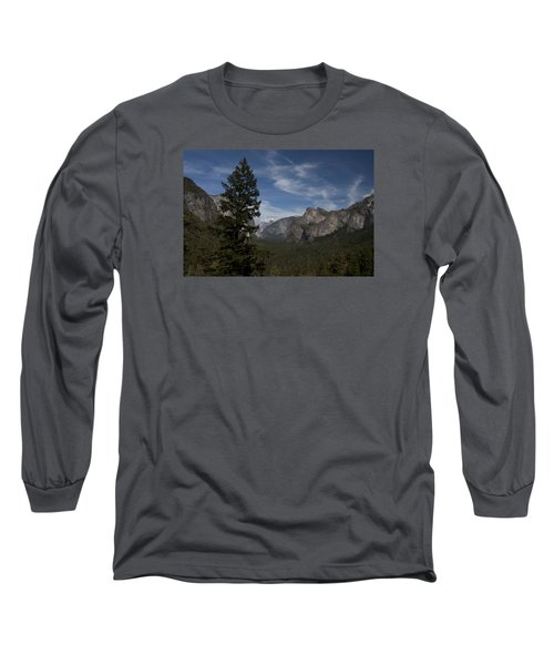 Yosemite View Long Sleeve T-Shirt by Ivete Basso Photography