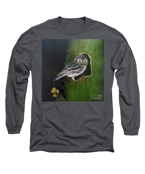 You Caught Me Long Sleeve T-Shirt by Roseann Gilmore