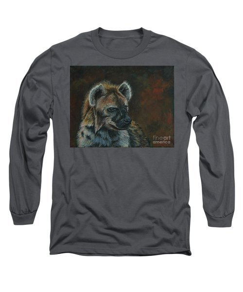You Don't See Me Laughing......hyena Long Sleeve T-Shirt