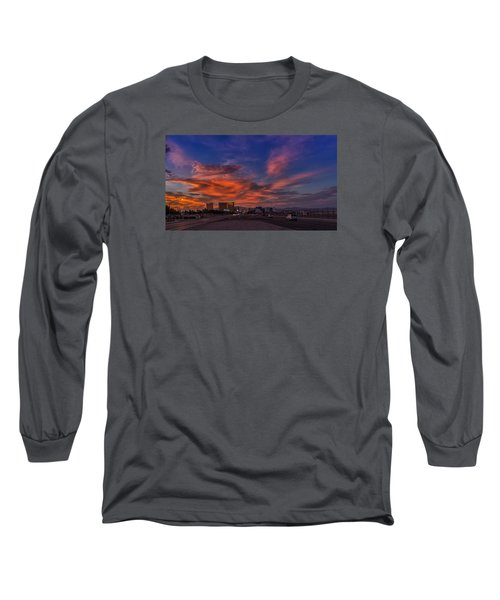 Long Sleeve T-Shirt featuring the photograph You'll Never Walk Alone by Michael Rogers
