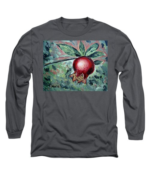 Young Pomegranate Long Sleeve T-Shirt