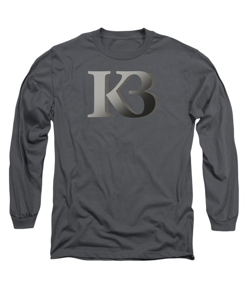 Your Name - K B Monogram 2 Long Sleeve T-Shirt