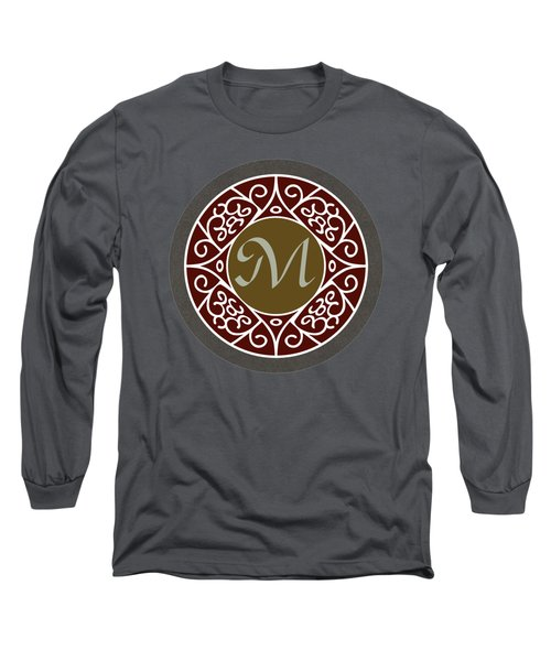 Your Name - M Monogram 2 Long Sleeve T-Shirt