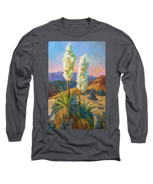 Yuccas Long Sleeve T-Shirt by Diane McClary