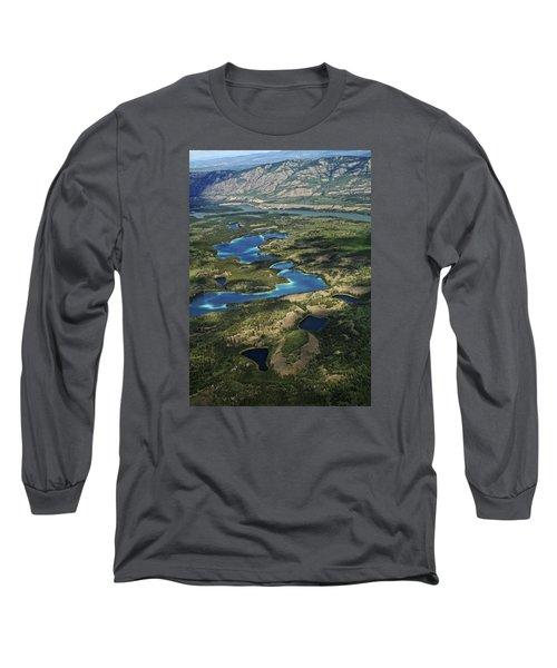 Yukon Territory Canada Long Sleeve T-Shirt