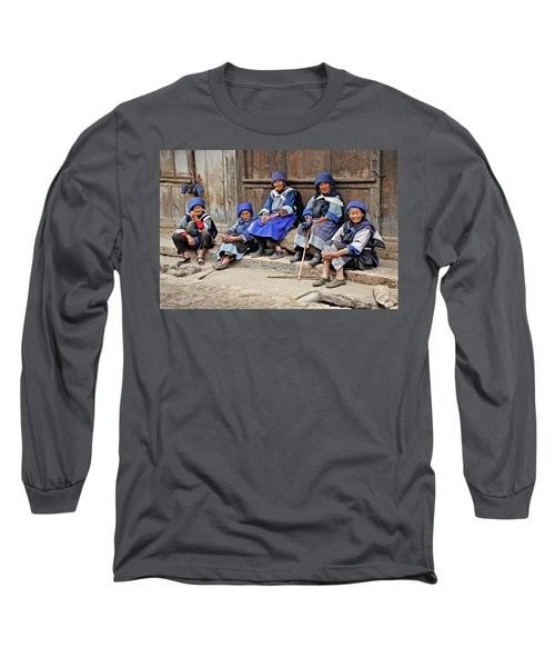 Yunnan Women Long Sleeve T-Shirt