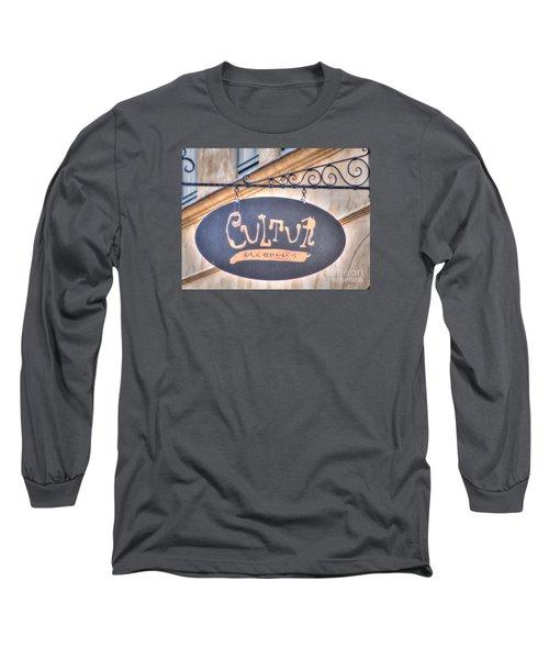 Long Sleeve T-Shirt featuring the pyrography Yury Bashkin Element City by Yury Bashkin