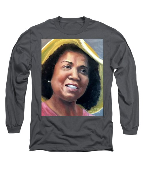 Yvonne Long Sleeve T-Shirt by Diane Daigle