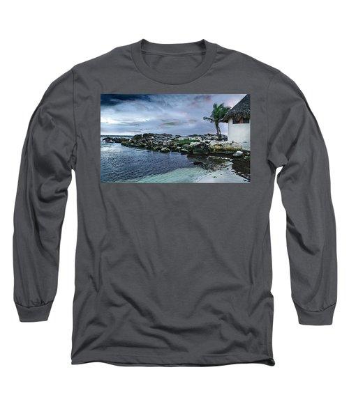Zamas Beach #8 Long Sleeve T-Shirt