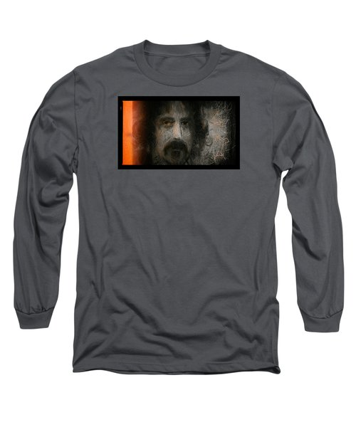 Zappa-the Deathless Horsie Long Sleeve T-Shirt by Michael Cleere