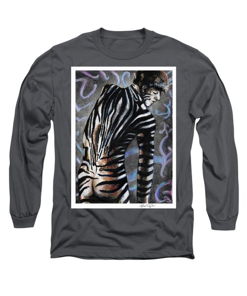Zebra Boy At Dawn Long Sleeve T-Shirt