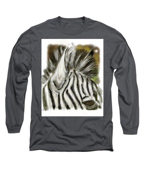 Zebra Digital Long Sleeve T-Shirt