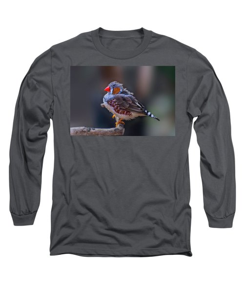 Zebra Finch Long Sleeve T-Shirt