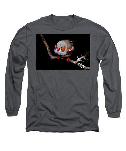 Zebra Finch Long Sleeve T-Shirt
