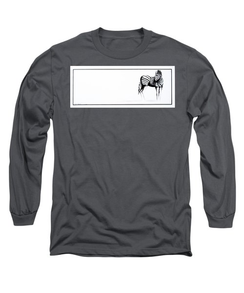 Zebra3 Long Sleeve T-Shirt