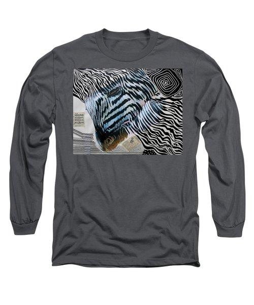 Zebratastic Long Sleeve T-Shirt