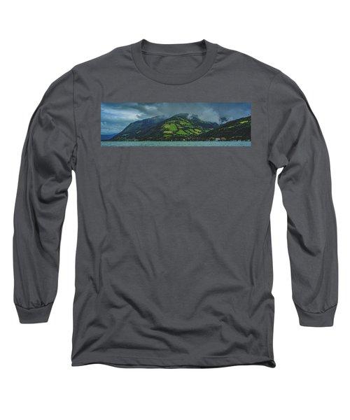 Zell Am See Panorama Long Sleeve T-Shirt