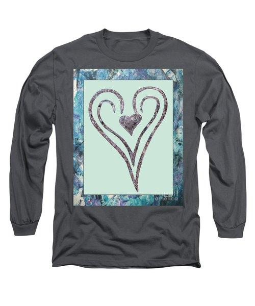 Zen Heart Sedona Labyrinth Long Sleeve T-Shirt