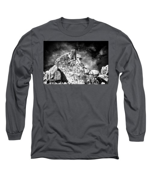 Zen Rocks II Bw Long Sleeve T-Shirt