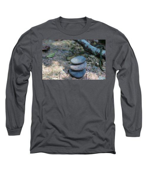 Zen Stones Long Sleeve T-Shirt