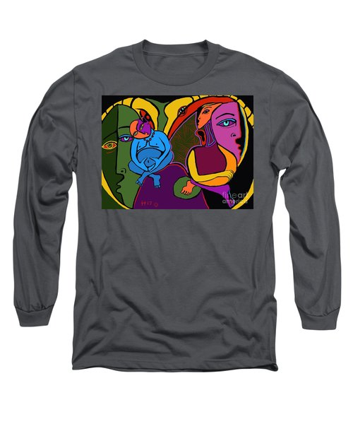 Zen Thoughts Long Sleeve T-Shirt by Hans Magden