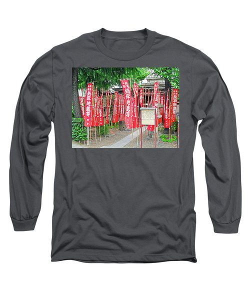 Zeniduka Hall Long Sleeve T-Shirt