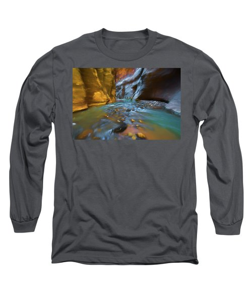 Zion Watercolor Long Sleeve T-Shirt