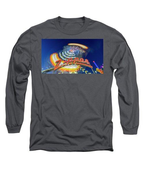 Zipper Long Sleeve T-Shirt