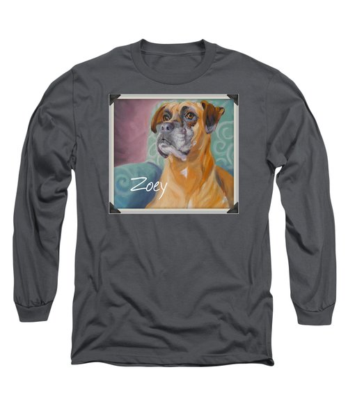 Zoey T Shirt To Order Long Sleeve T-Shirt