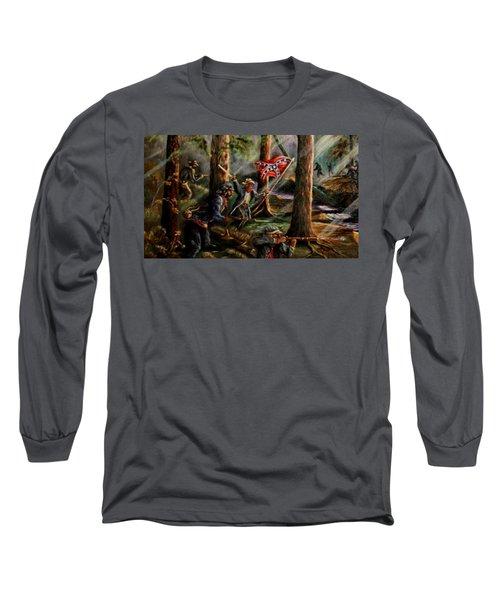 Battle Of Chancellorsville - The Wilderness Long Sleeve T-Shirt