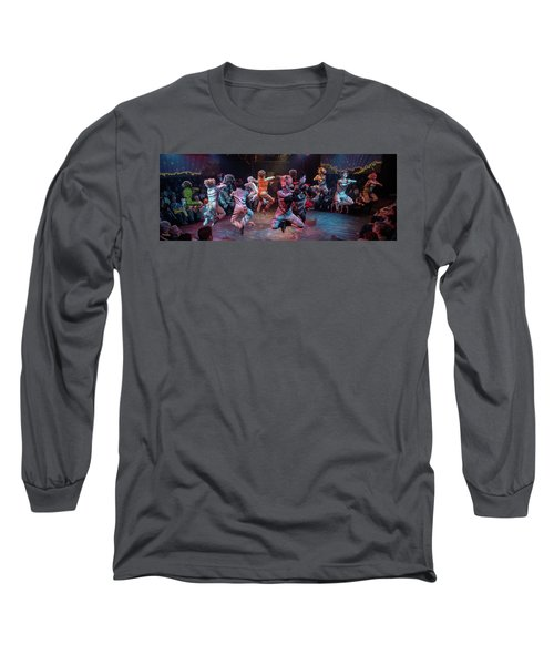 Cats In The Air Long Sleeve T-Shirt