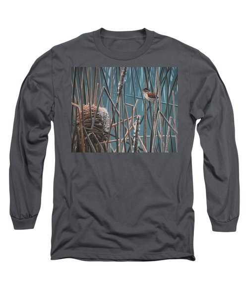 Cattail Hideaway Long Sleeve T-Shirt