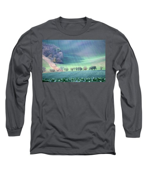 Autumn In South Moravia 1 Long Sleeve T-Shirt
