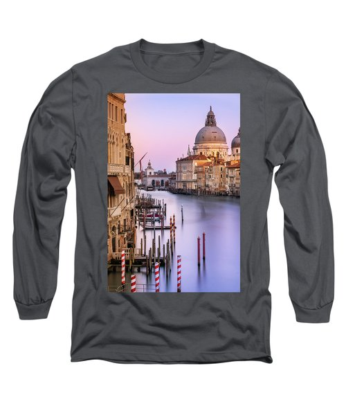 Evening Light In Venice Long Sleeve T-Shirt
