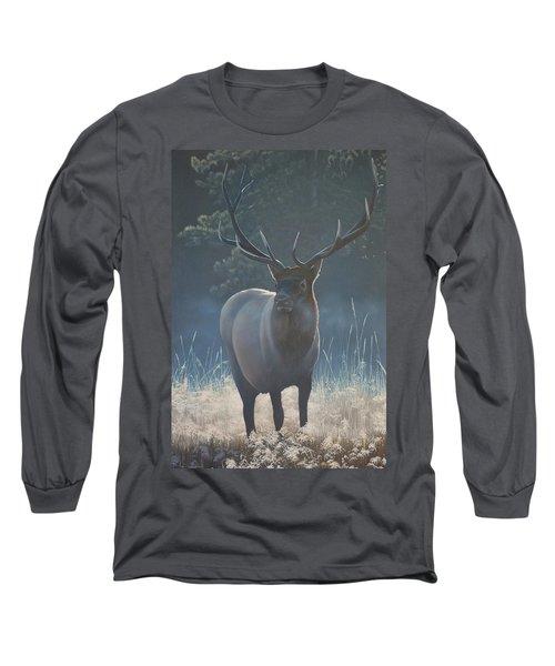 First Light - Bull Elk Long Sleeve T-Shirt