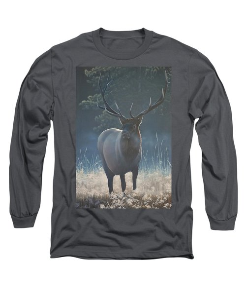 First Light - Bull Elk Long Sleeve T-Shirt